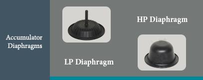 COP accumulator diaphragm